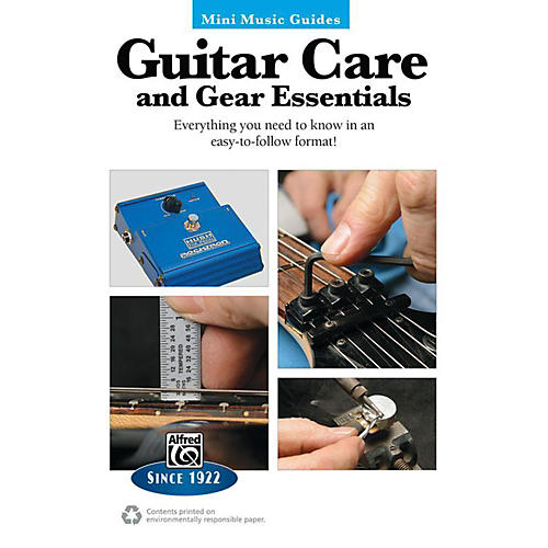 Alfred Guitar Care and Gear Essentials Mini Music Guides Book-thumbnail