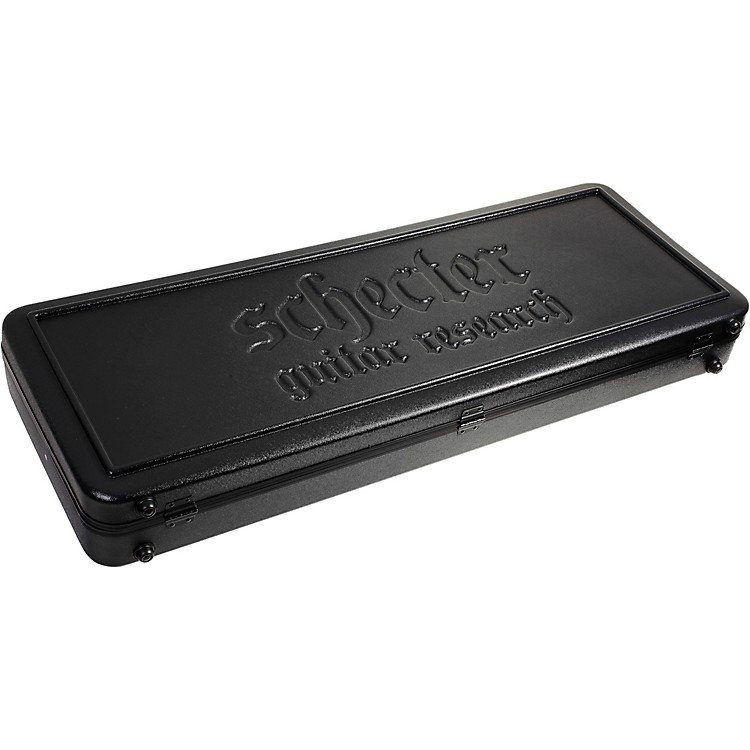 Schecter Guitar Research Guitar Case for S-1, Scorpion, Devil Tribal, and other S-series models