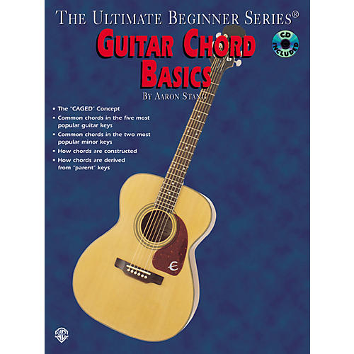 Alfred Guitar Chord Basics Book