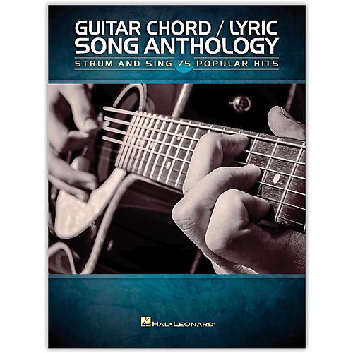 Hal Leonard Guitar Chord/Lyric Song Anthology - Strum & Sing 75 Popular Hits-thumbnail