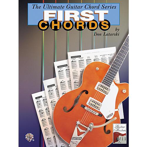 Alfred Guitar Chord Series: First Chords-thumbnail