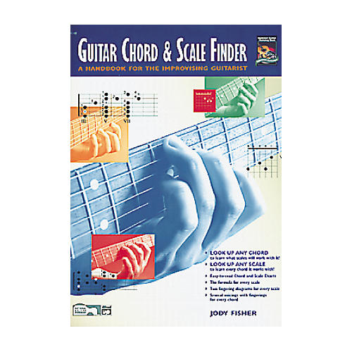 Alfred Guitar Chord and Scale Finder Book