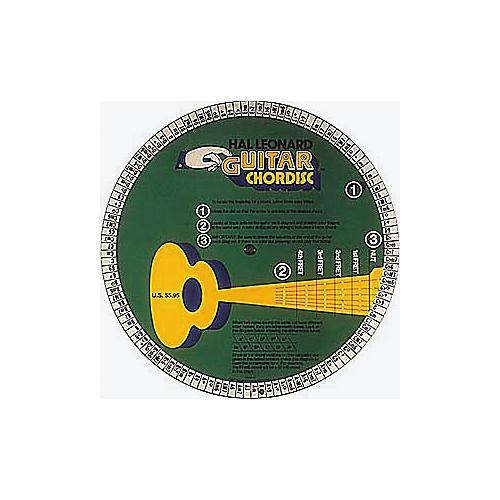 Hal Leonard Guitar Chordisc