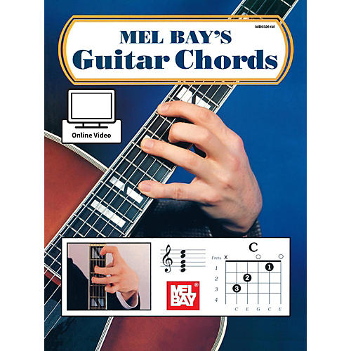 Mel Bay Guitar Chords Book & Online Audio-thumbnail