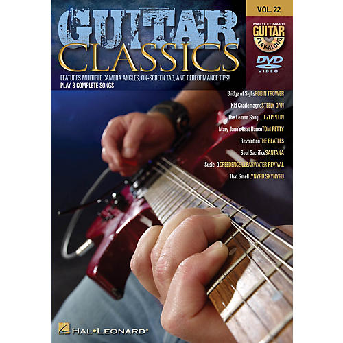 Hal Leonard Guitar Classics (Guitar Play-Along DVD Volume 22) Guitar Play-Along DVD Series DVD Performed by Various