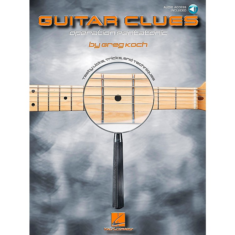 Hal Leonard Guitar Clues Book/CD Operation Pentatonic