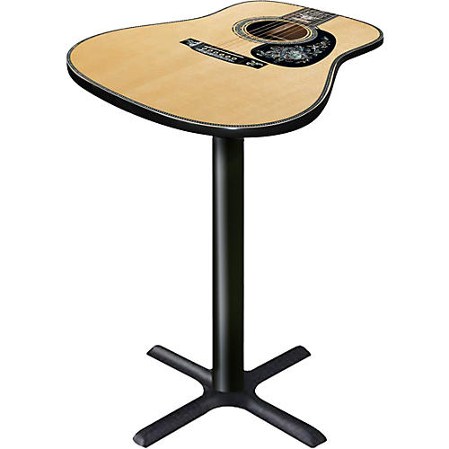 Martin Guitar D100 Cocktail Table