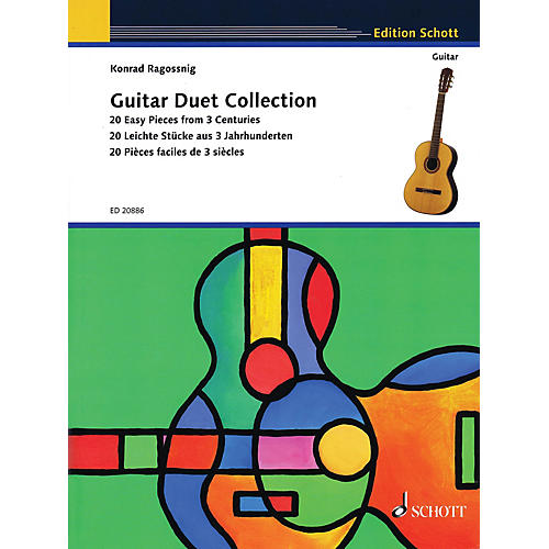 Schott Guitar Duet Collection (20 Easy Pieces from 3 Centuries) Guitar Series Softcover