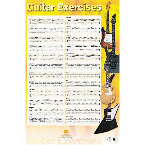 Hal Leonard Guitar Exercises Poster 22