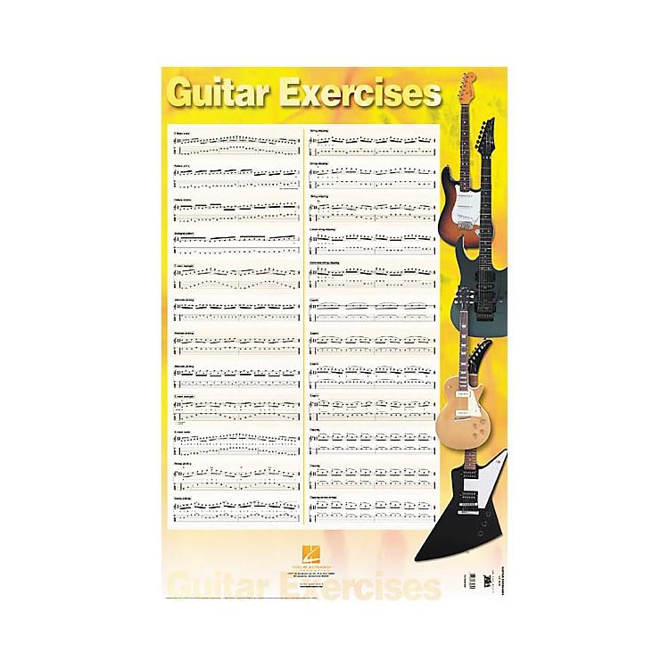 Hal LeonardGuitar Exercises Poster 22