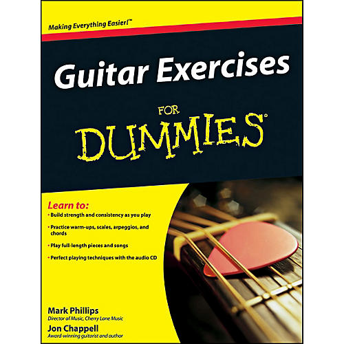 Mel Bay Guitar Exercises for Dummies  Book/CD Set