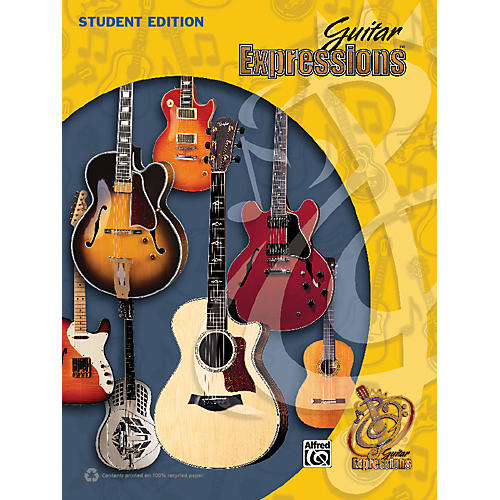 Alfred Guitar Expressions Student Edition (Revised) Book