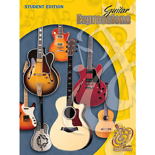 Alfred Guitar Expressions Student Edition Student Book-thumbnail