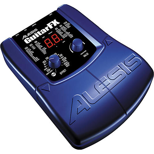 Alesis Guitar FX 24-Bit Multi-Effects Guitar Processor with 20 Foot Cable