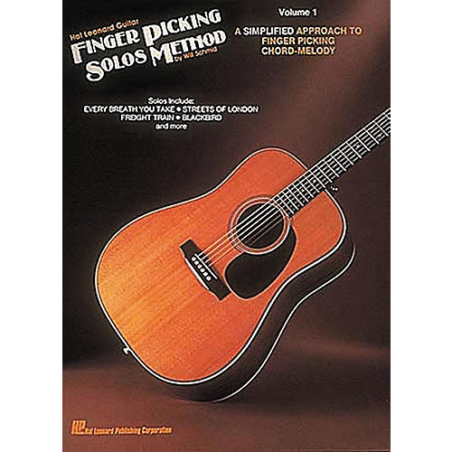 Hal Leonard Guitar Finger Picking Solos Method Volume 1 Book