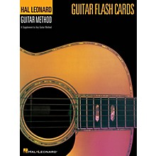 Hal Leonard Guitar Flash Cards (Hal Leonard Guitar Method) Guitar Method Series Softcover Written by Various Authors