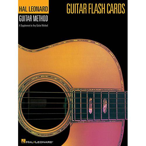 Hal Leonard Guitar Flash Cards (Hal Leonard Guitar Method) Guitar Method Series Softcover Written by Various Authors-thumbnail