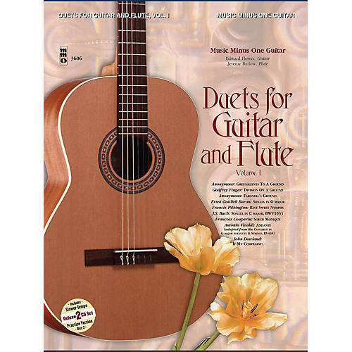 Music Minus One Guitar & Flute Duets - Vol. I (2-CD Set) Music Minus One Series Softcover with CD-thumbnail