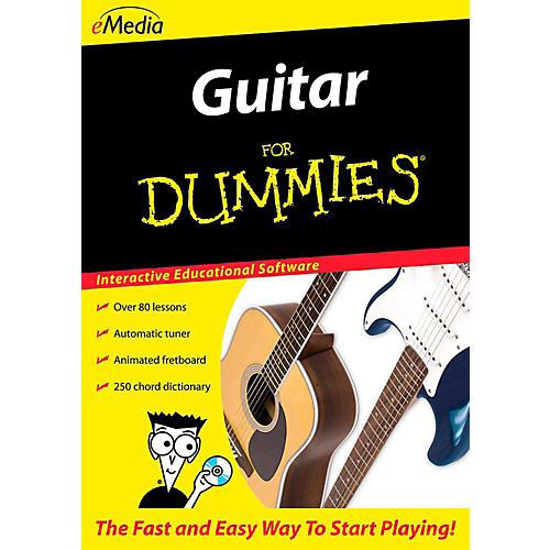 Emedia Guitar For Dummies - Digital Download Windows Version