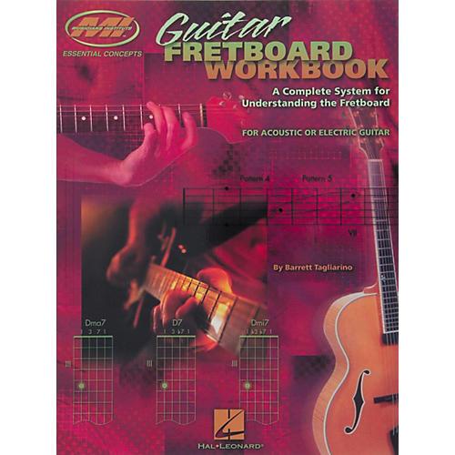 Musicians Institute Guitar Fretboard Workbook Book