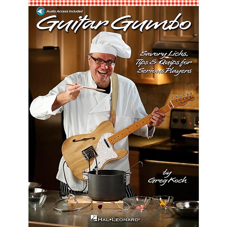 Hal LeonardGuitar Gumbo - Savory Licks, Tips & Quips For Serious Players Book/CD