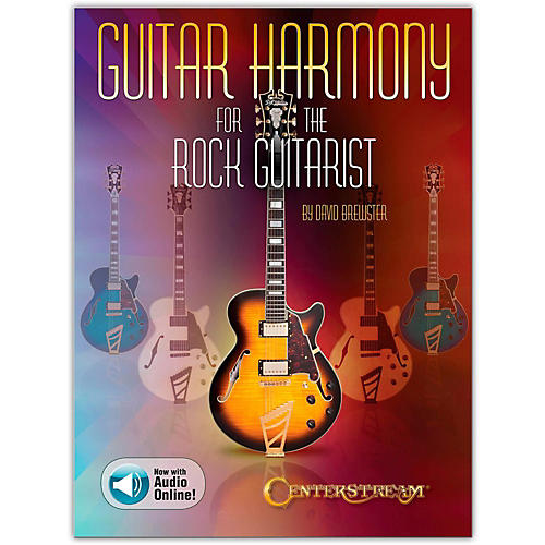 Centerstream Publishing Guitar Harmony for the Rock Guitarist Book/Audio Online-thumbnail