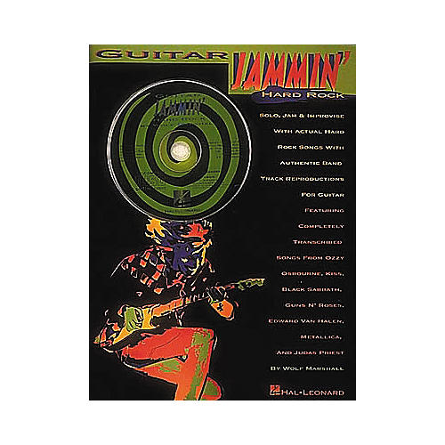 Hal Leonard Guitar Jammin' With Hard Rock Songs (Book/CD)