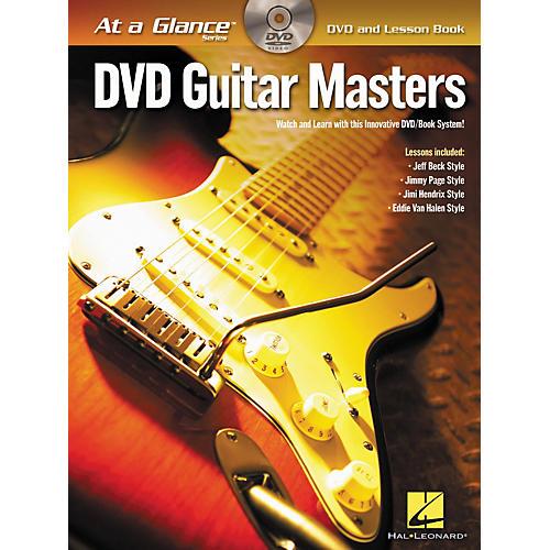 Hal Leonard Guitar Masters - At A Glance (Book/DVD)