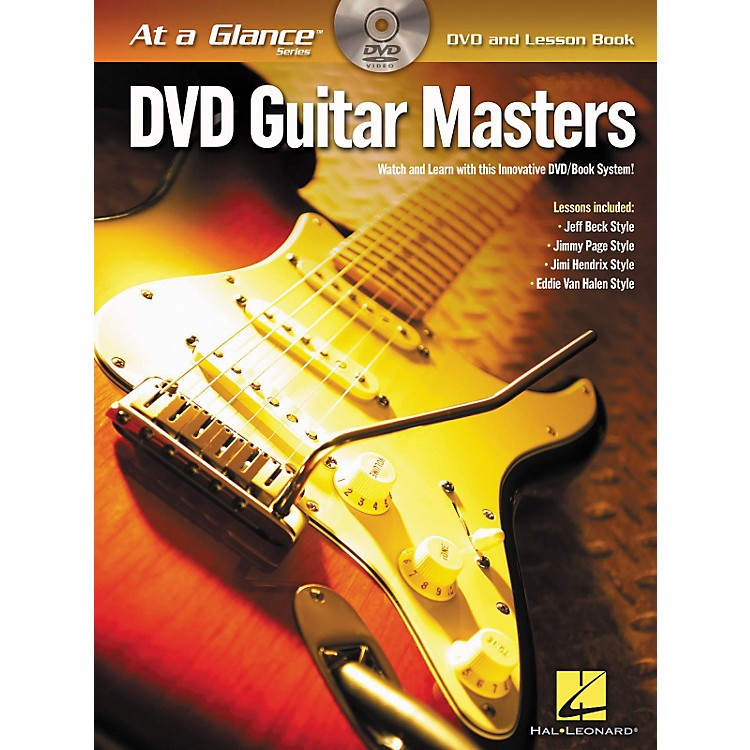 Hal Leonard Guitar Masters - At A Glance (Book/DVD)