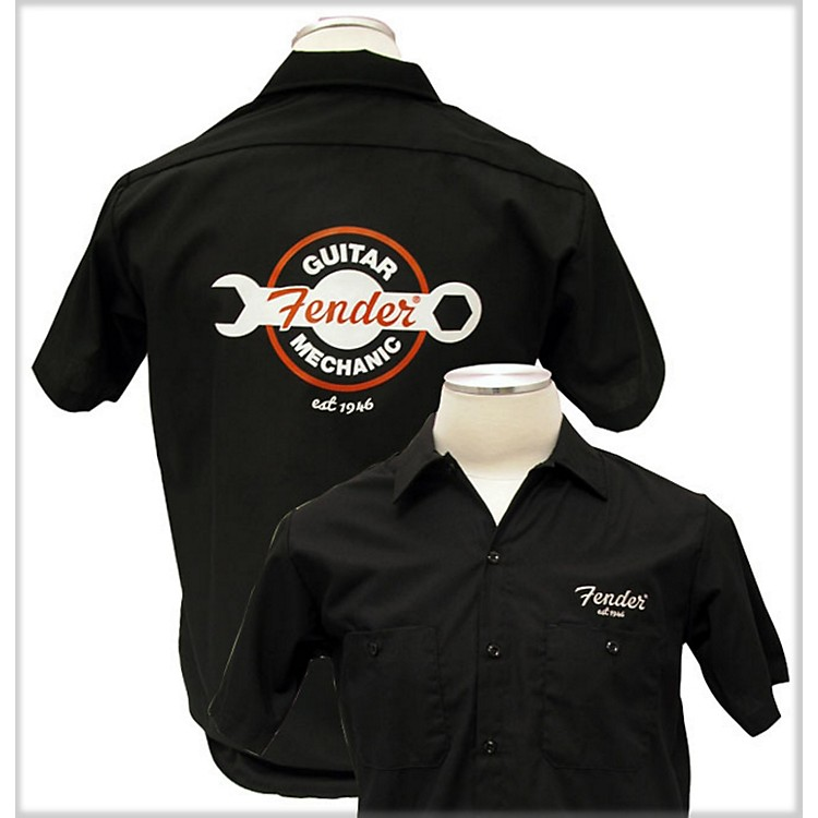 Fender Guitar Mechanic Work Shirt