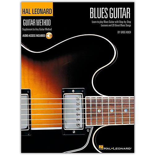 Hal Leonard Guitar Method - Blues Guitar Book/CD