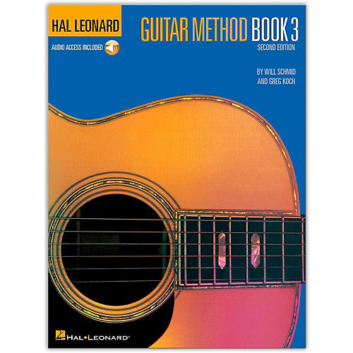 Hal Leonard Guitar Method - Book 3 Book/CD