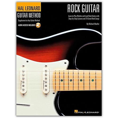 Hal Leonard Guitar Method - Rock Guitar (Book/Online Audio)-thumbnail