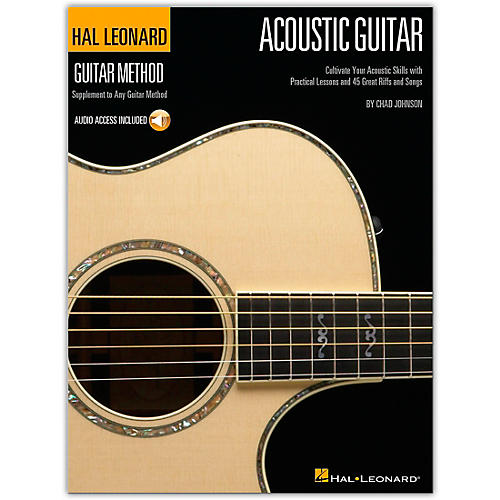 Hal Leonard Guitar Method Acoustic Guitar Book