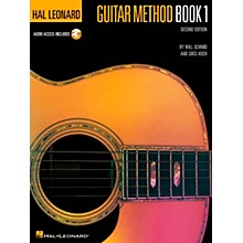 Hal Leonard Guitar Method Book 1 (Book/Online Audio)