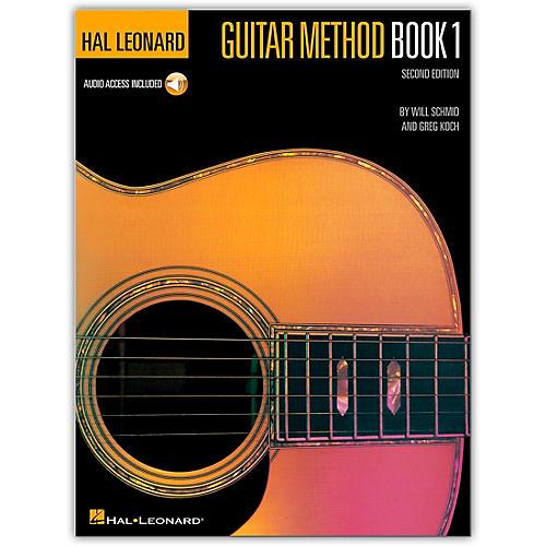 Hal Leonard Guitar Method Book 1 (Book/Online Audio)