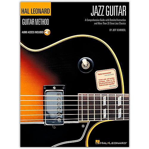Hal Leonard Guitar Method-Jazz Guitar (Book/Online Audio)-thumbnail