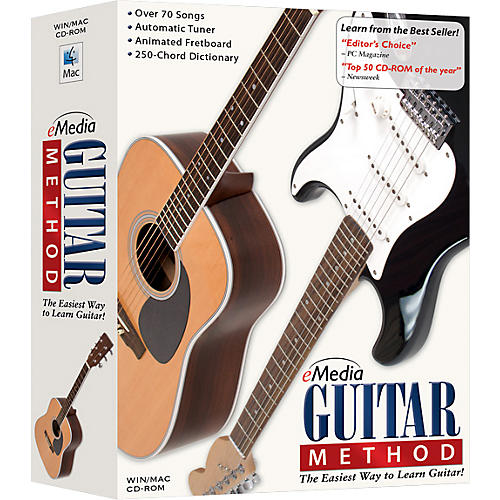 Emedia Guitar Method Volume 1 for Beginners CD-ROM