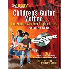 hal leonard guitar method for kids the road to stardom starts here learn electric or acoustic. Black Bedroom Furniture Sets. Home Design Ideas