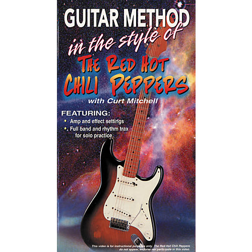 MVP Guitar Method in the Style of Red Hot Chili Peppers Video (VHS)