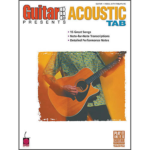 Cherry Lane Guitar One Presents Acoustic Guitar Tab Songbook-thumbnail