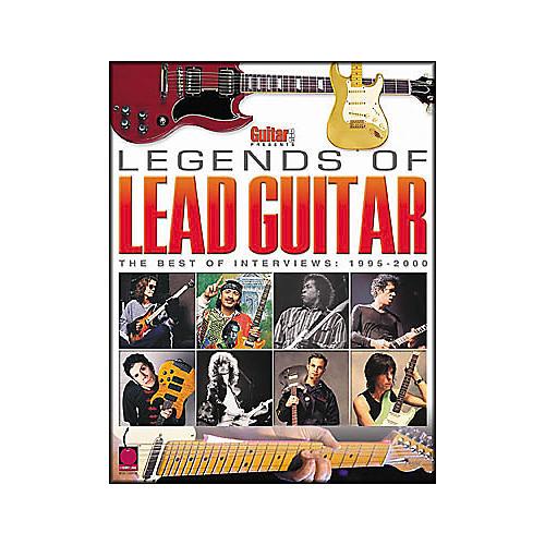 Cherry Lane Guitar One Presents Legends of Lead Guitar Interviews Book