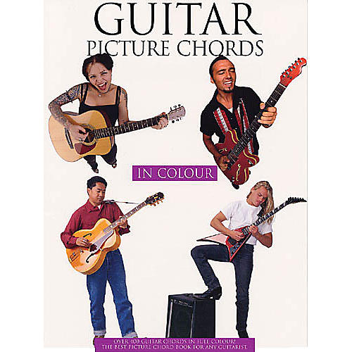 Music Sales Guitar Picture Chords in Color Music Sales America Series Softcover Written by Various Authors-thumbnail
