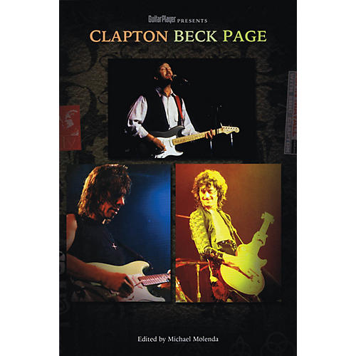 Backbeat Books Guitar Player Presents Clapton, Beck, Page Guitar Player Presents Series Softcover-thumbnail