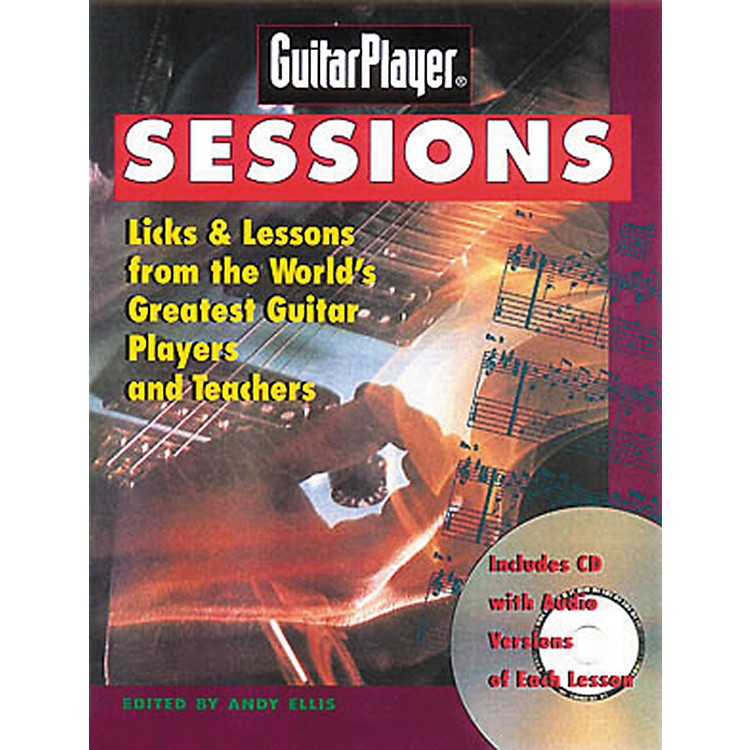 Hal LeonardGuitar Player Sessions (Book and CD Package)