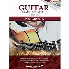 Shawnee Press Guitar Praise & Worship Songbook Shawnee Press Series Softcover with CD