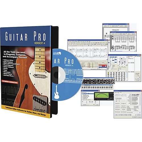 Emedia Guitar Pro 4.0 Multitrack Tab Editor-thumbnail