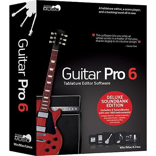 Arobas Music Guitar Pro 6.0 Deluxe Soundbank CD-ROM