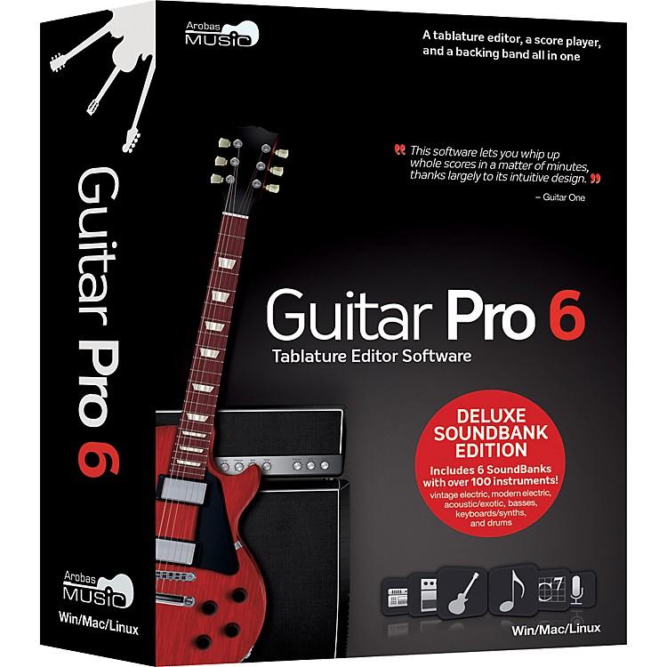Arobas MusicGuitar Pro 6.0 Deluxe Soundbank CD-ROM