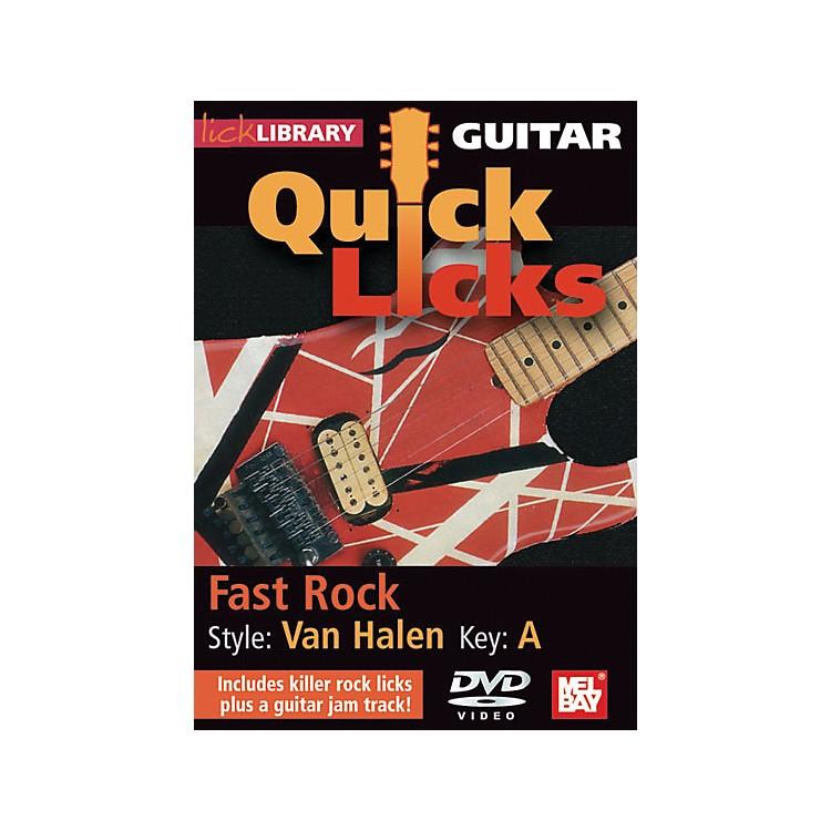 Hal LeonardGuitar Quick Licks - Van Halen Style, Fast Rock
